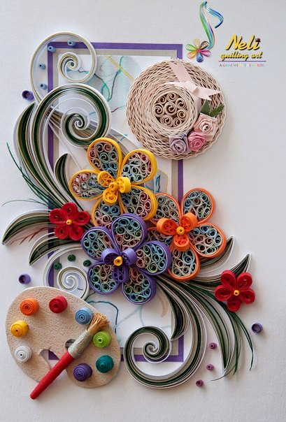 22 Astonishing Quilling Artworks Picturescrafts Com
