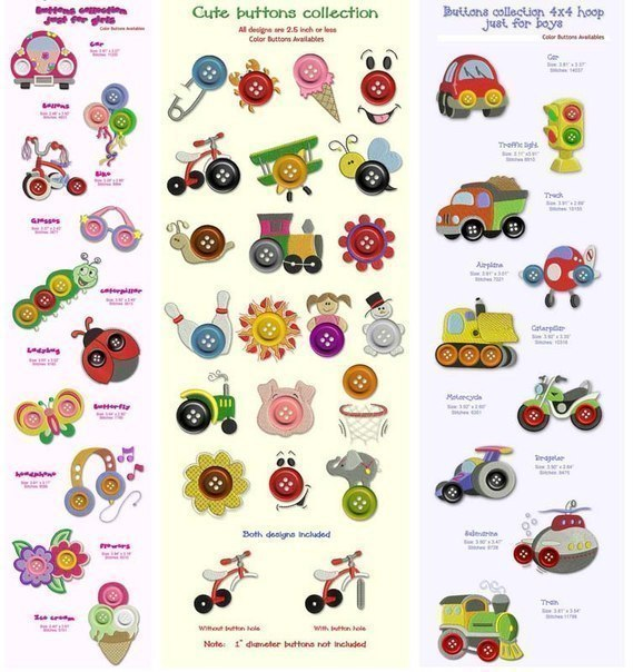 Crafts from buttons (9)