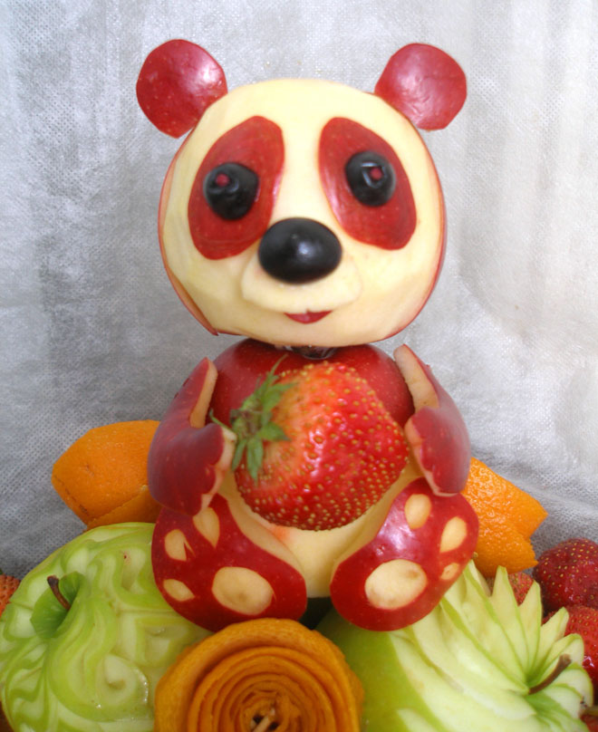 Ideas fruit vegetable carving picturescrafts