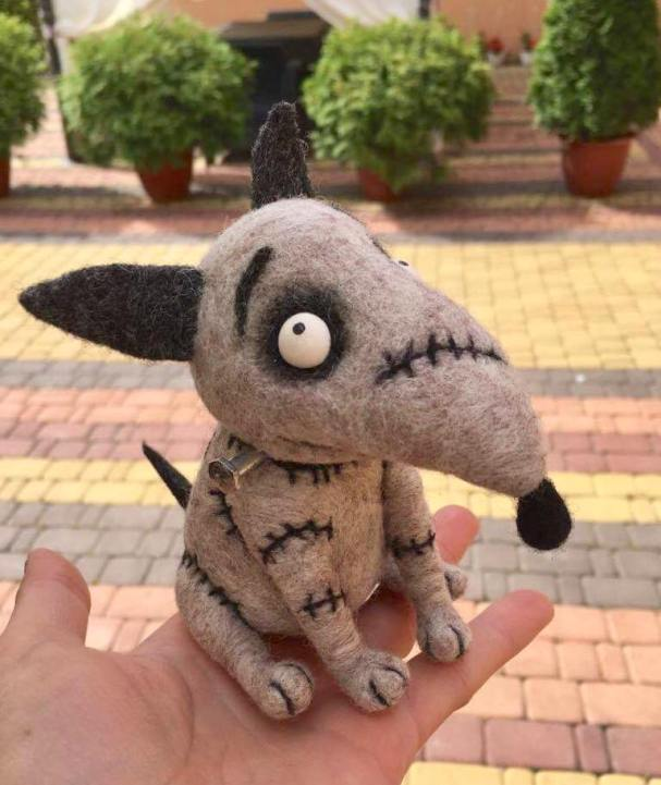 cute wool toy