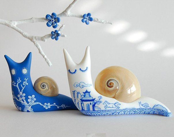 14 choices of fabric snails and other ...