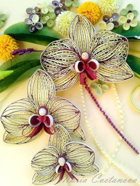 Flowers Paper Quilling